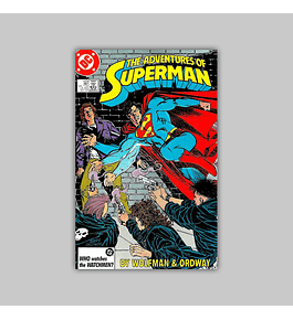 The Adventures of Superman 433 1987