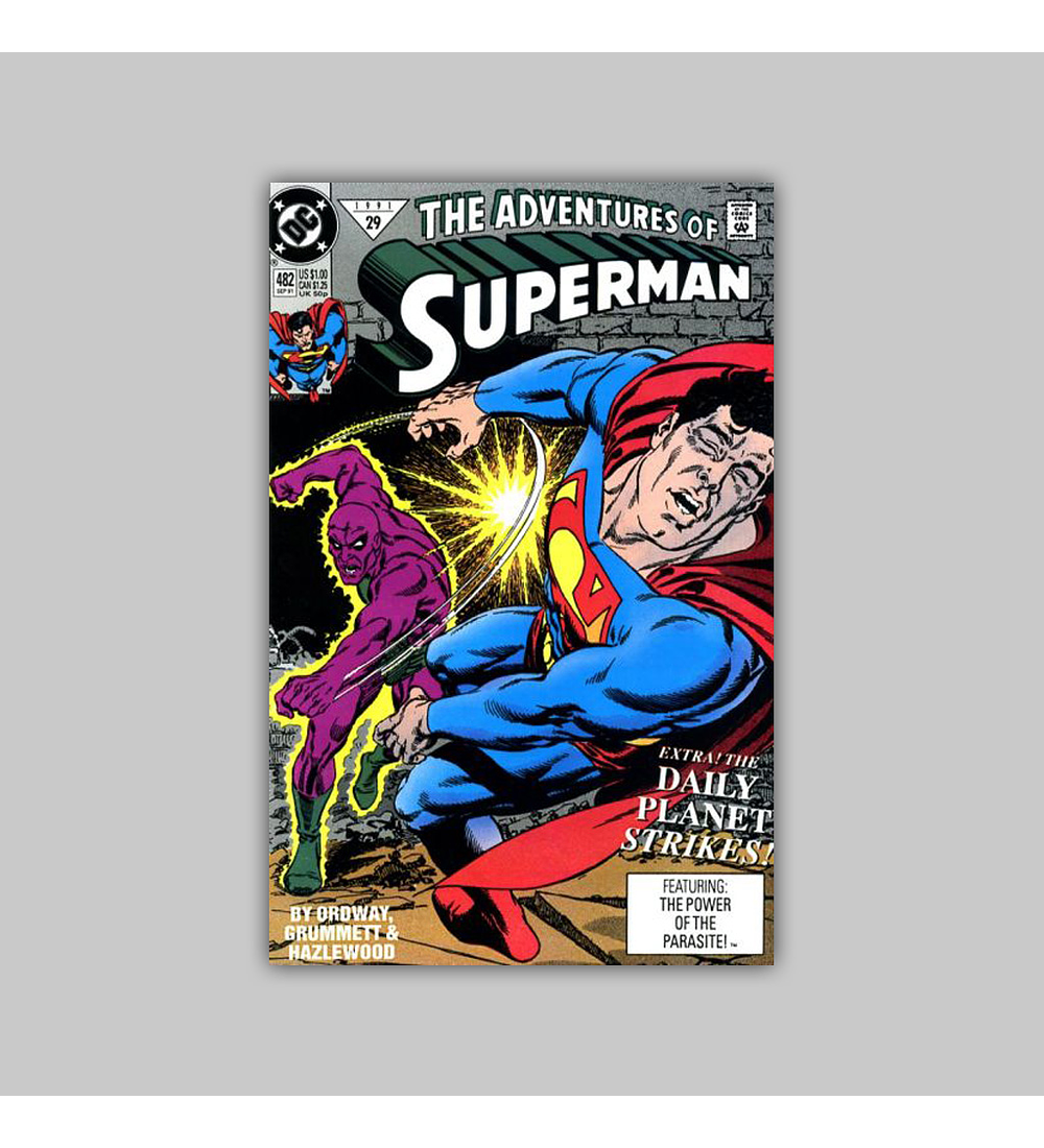 The Adventures of Superman 482 1991