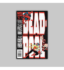 Deadpool: The Circle Chase 2 Newsstand VF+ 8.5 1993