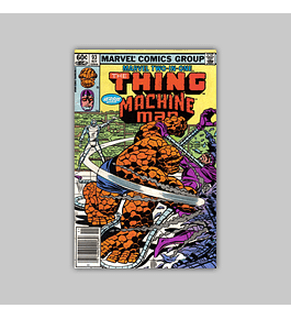 Marvel Two-In-One 93 1982