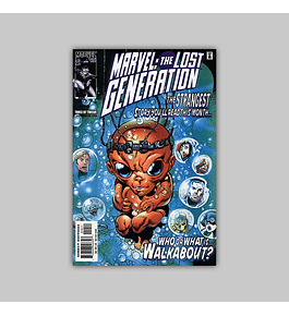 Marvel: The Lost Generation 10 2000