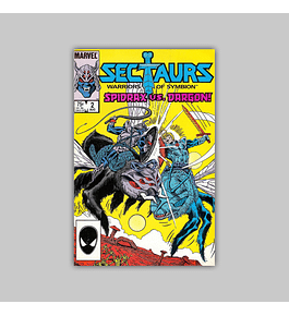 Sectaurs 2 VF (8.0) 1985