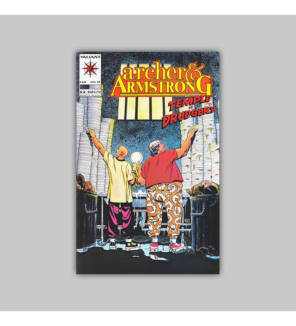 Archer & Armstrong 19 1994