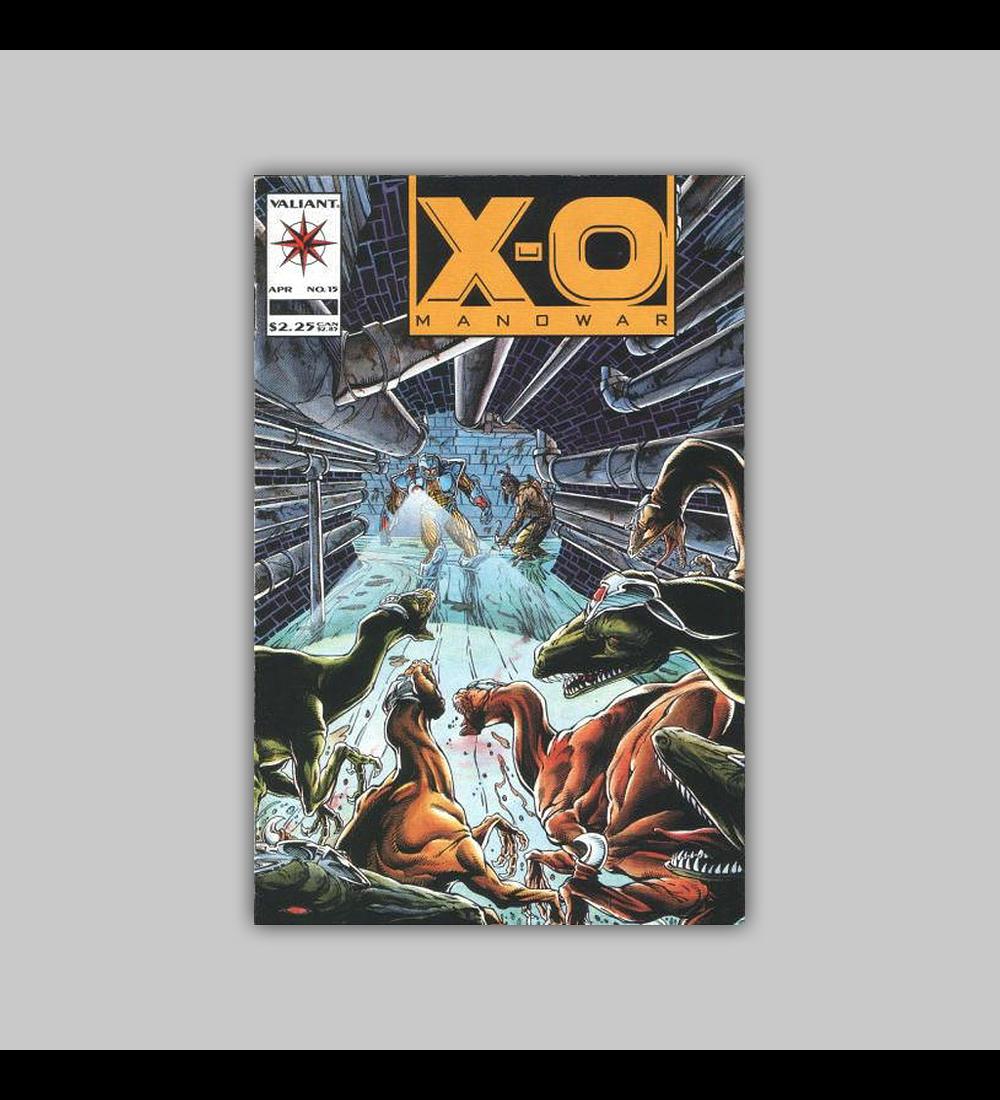 X-O: Manowar 15 1993