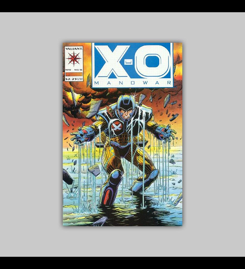 X-O: Manowar 16 1993