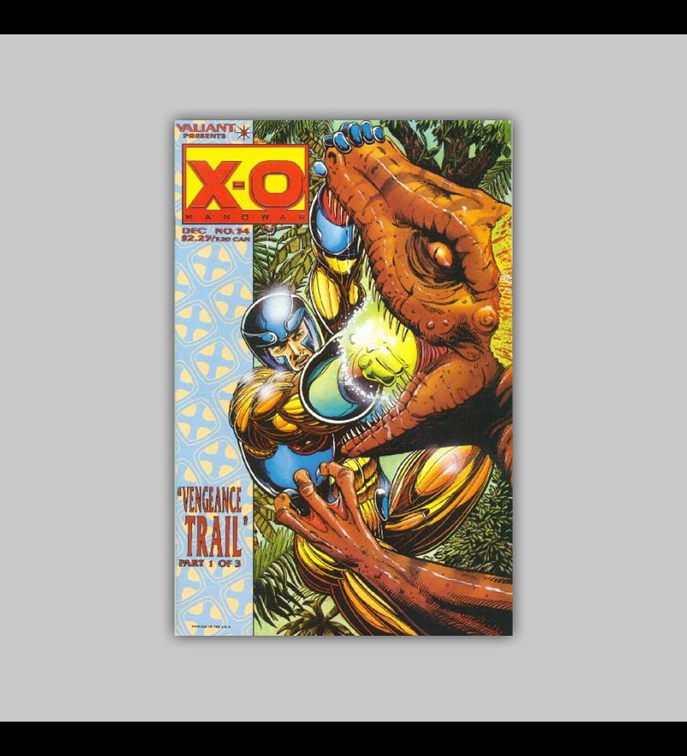 X-O: Manowar 34 1994