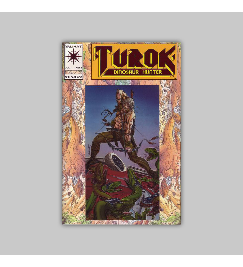 Turok, Dinosaur Hunter 1 Foil 1993