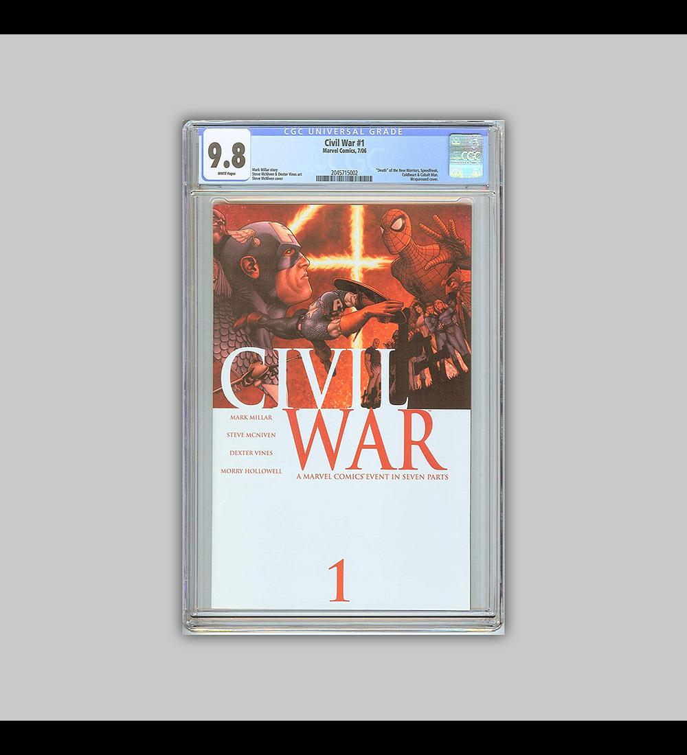 Civil War 1 CGC 9.8 2006