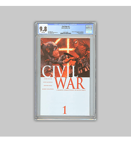 Civil War 1 CGC 9.8 2006