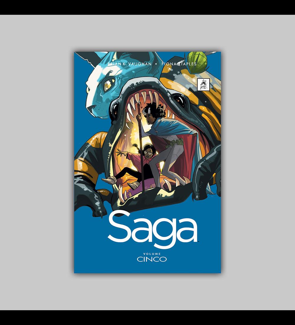Saga Vol. 05 HC 2016