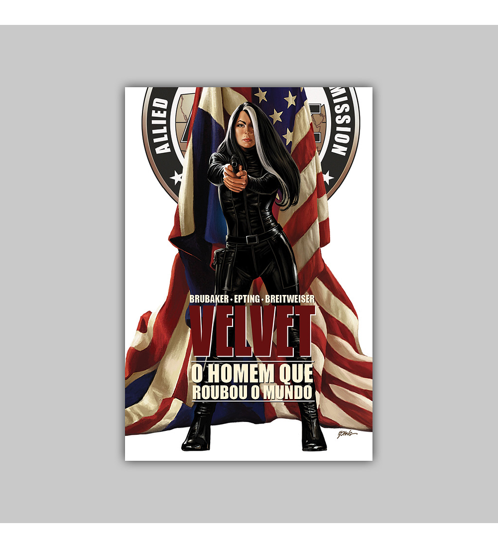 Velvet Vol. 03: O Homem que Roubou o Mundo HC 2017
