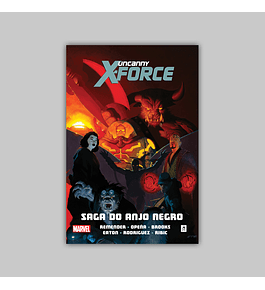 Uncanny X-Force Vol. 02. Saga do Anjo Negro HC