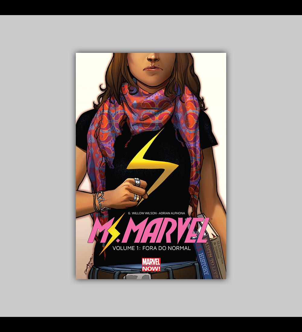 Ms Marvel Vol. 01: Fora do Normal HC 2018