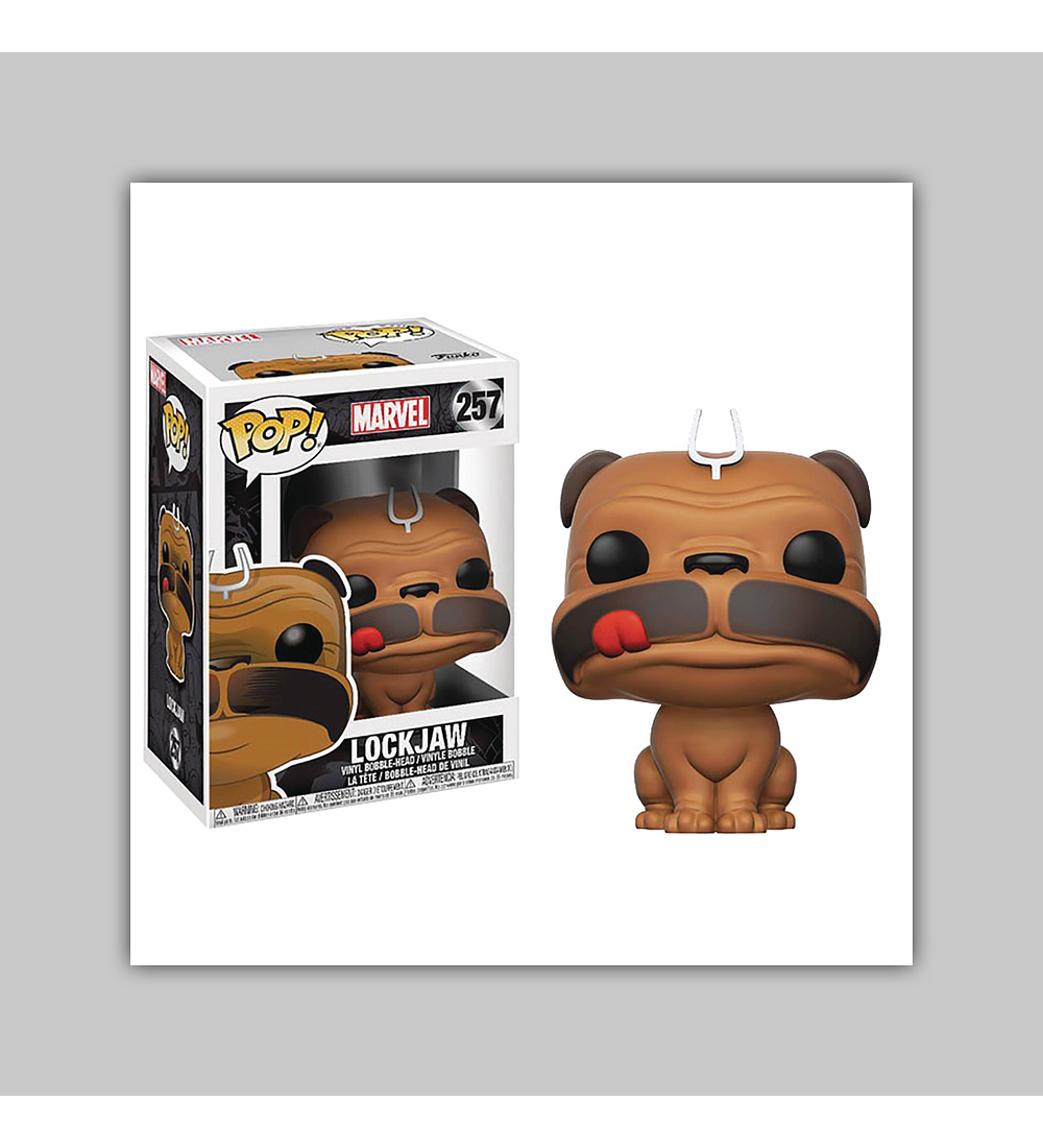 Pop! Inhumans Vinyl Figure: Lockjaw 2017