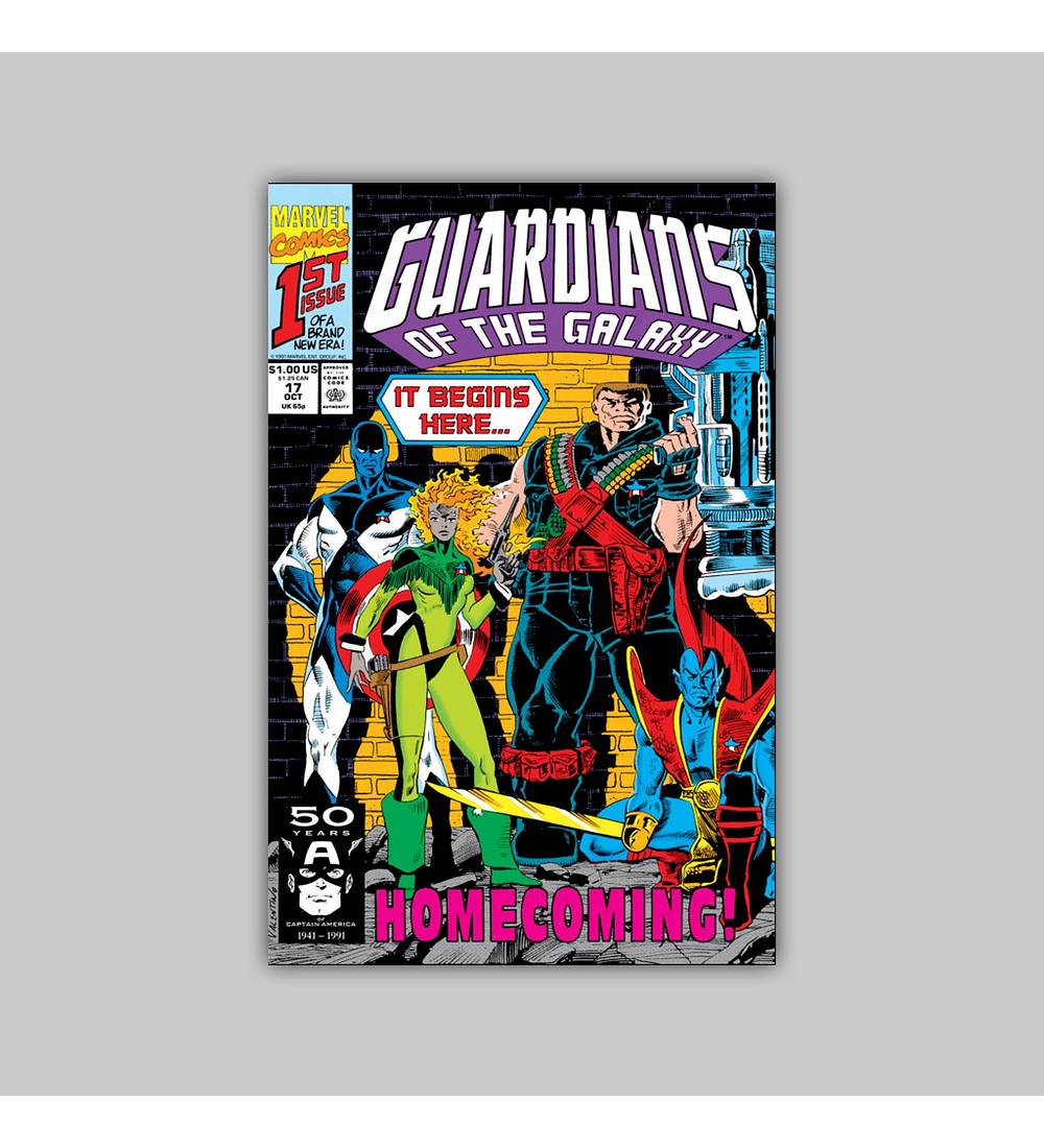 Guardians of the Galaxy 17 1991