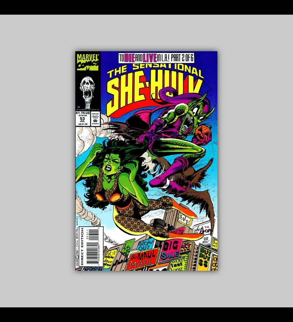 Sensational She-Hulk 53 1993