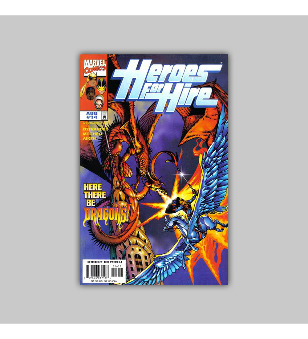 Heroes For Hire 14 1998