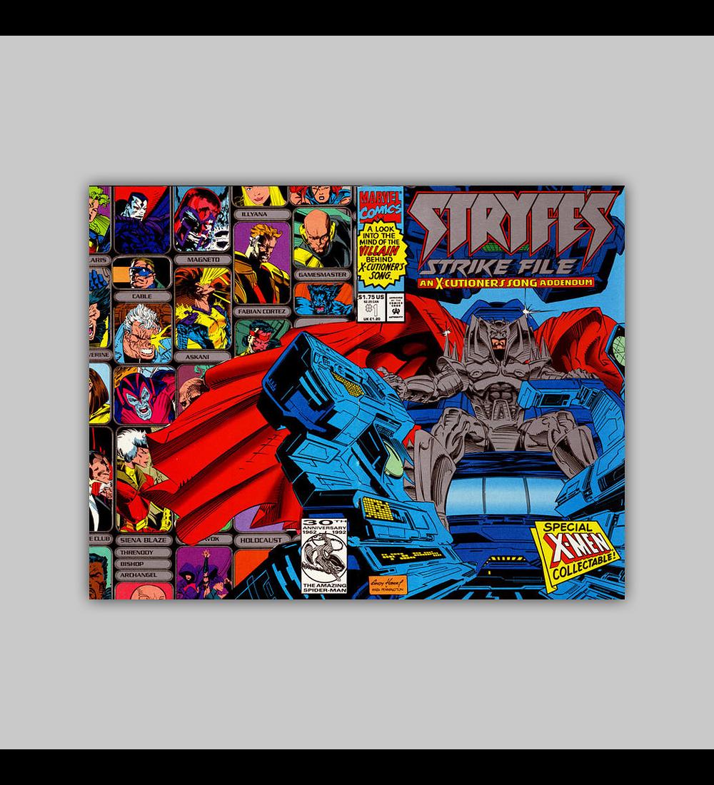 Stryfe's Strike File 1 1993