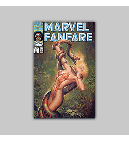 Marvel Fanfare 57 1991