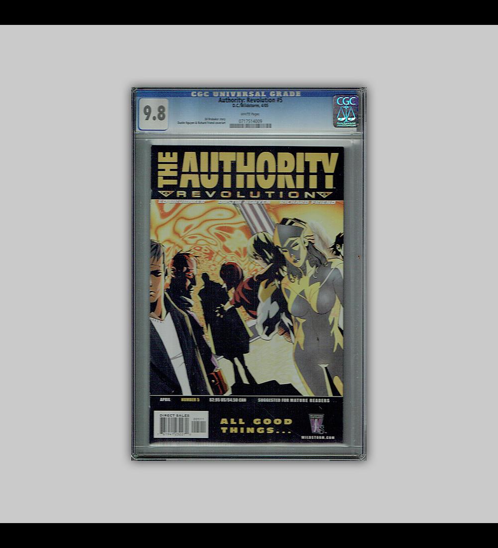 Authority: Revolution 5 CGC 9.8 2005