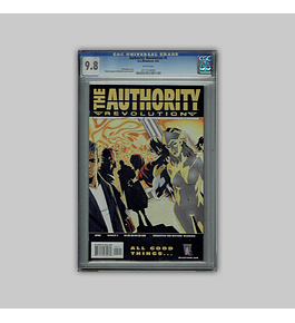 Authority: Revolution 5 CGC 9.8 2005
