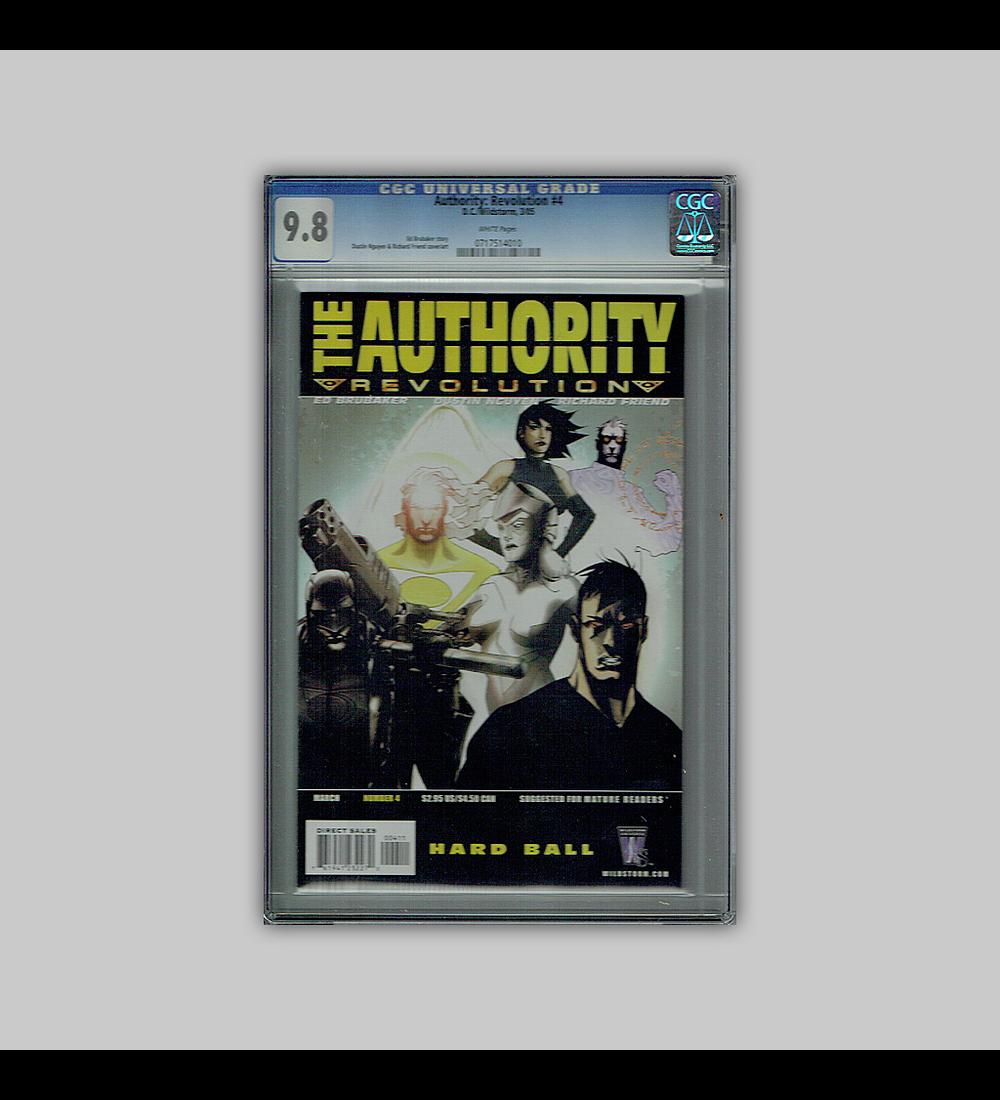 Authority: Revolution 4 CGC 9.8 2005
