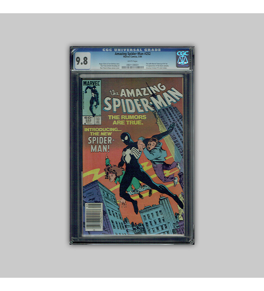 Amazing Spider-Man 252 CGC 9.8 1984