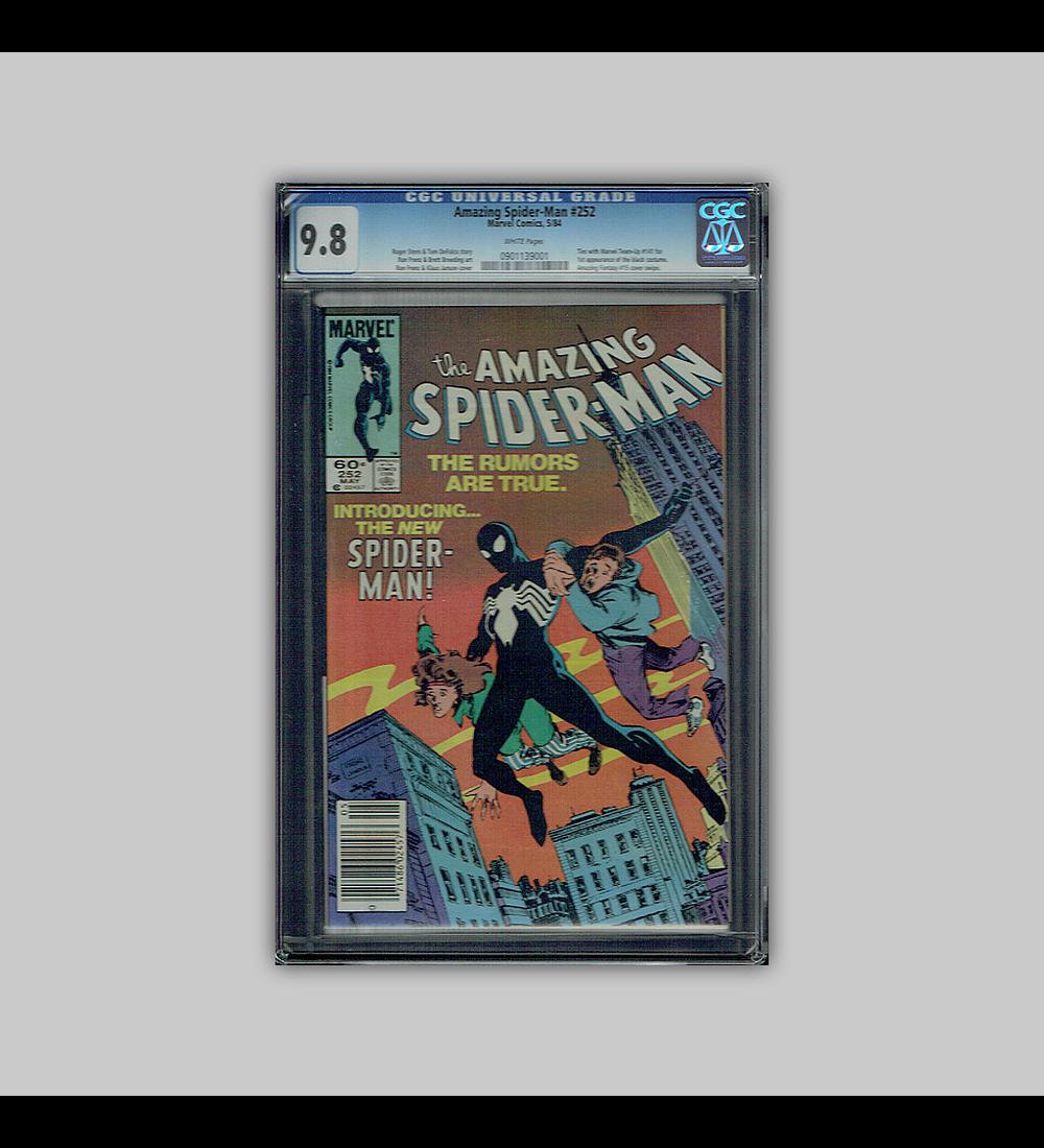 Amazing Spider-Man 252 CGC 9.8 1984