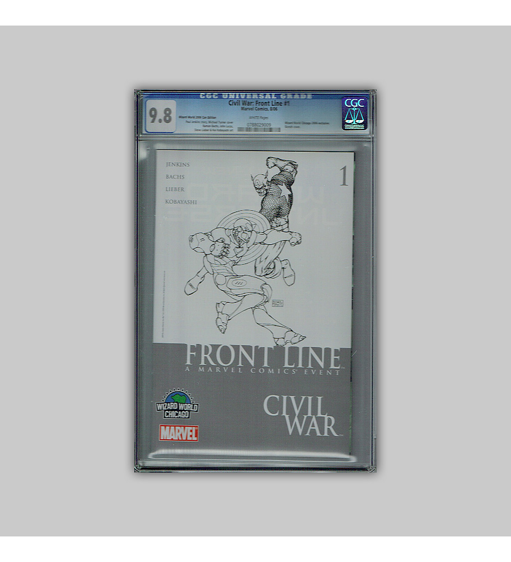 Civil War: Front Line 1 CGC 9.8 2006