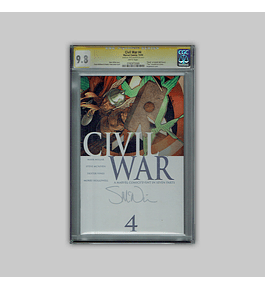 Civil War 4 CGC 9.8 Signature 2006