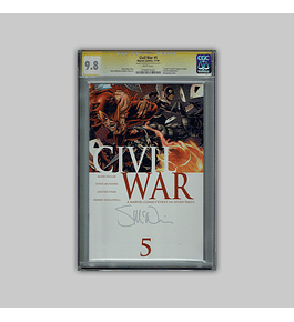 Civil War 5 CGC 9.8 Signature 2006