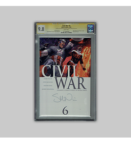 Civil War 6 CGC 9.8 Signature 2006