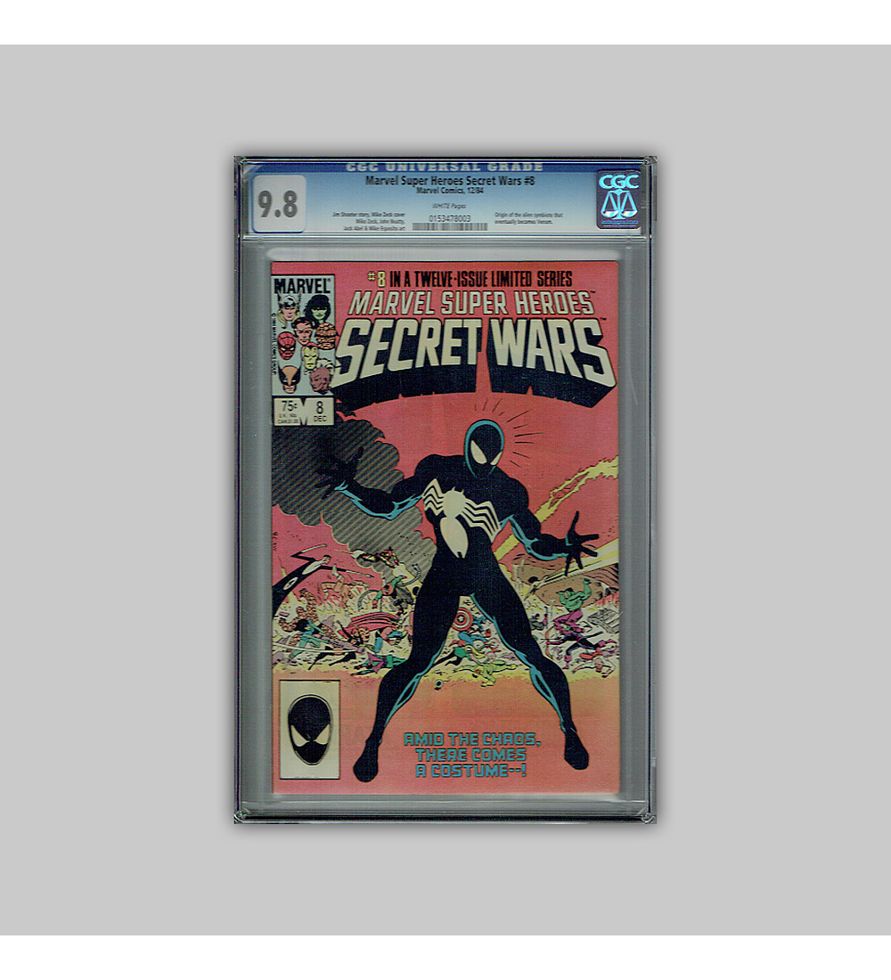 Marvel Super-Heroes: Secret Wars 8 CGC 9.8 1984