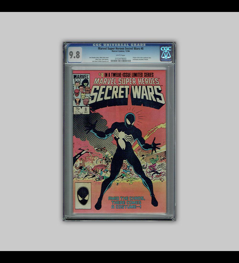 Marvel Super-Heroes: Secret Wars 8 CGC 9.8 1984