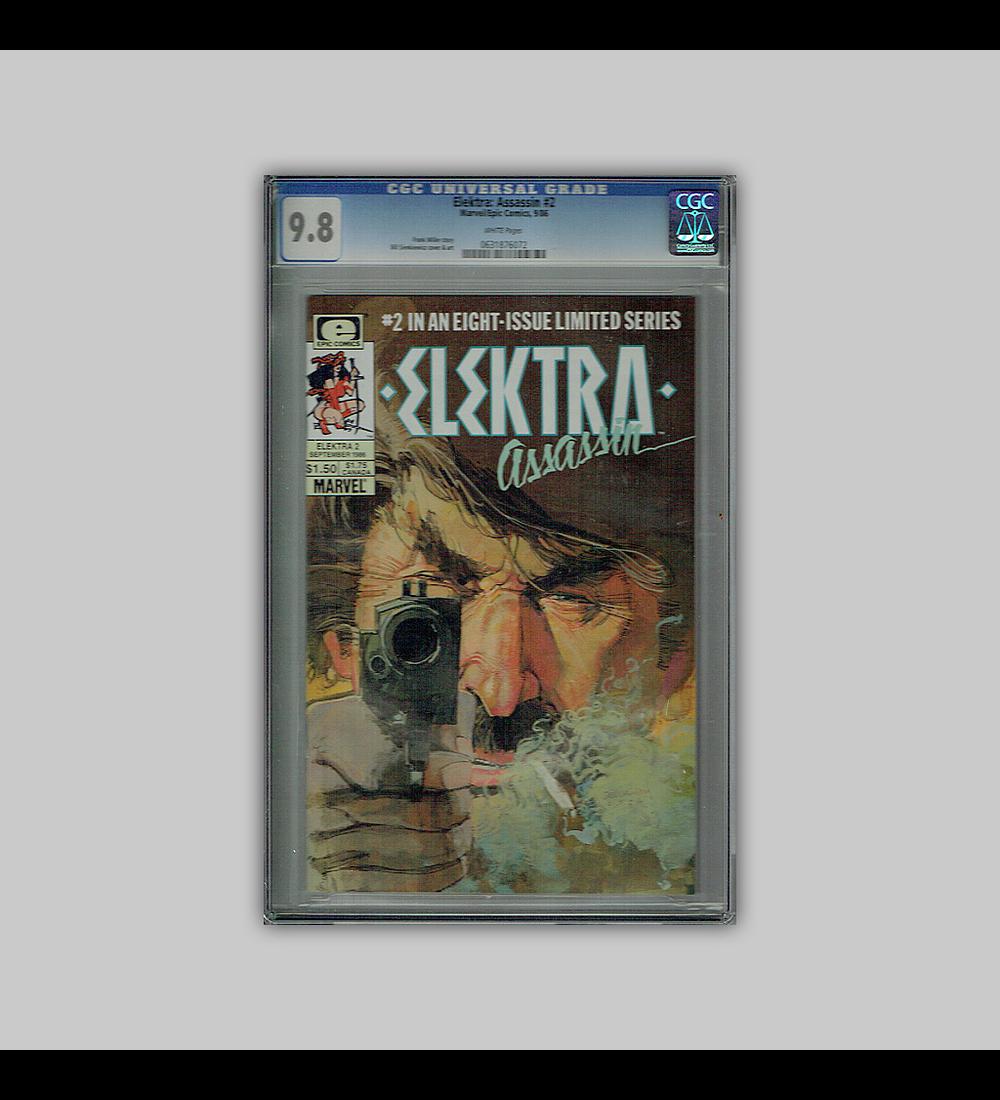 Elektra: Assassin 2 CGC 9.8 1986