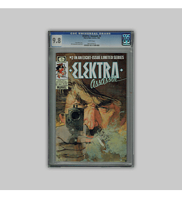 Elektra: Assassin 2 CGC 9.8 1986