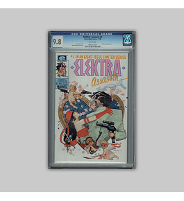 Elektra Assassin 4 CGC 9.8 1986