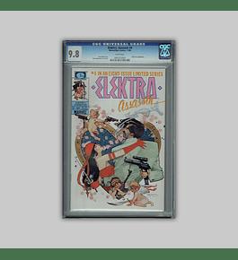Elektra Assassin 4 CGC 9.8 1986