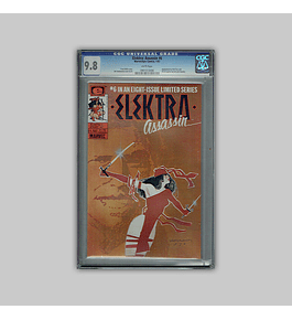 Elektra Assassin 6 CGC 9.8 1987