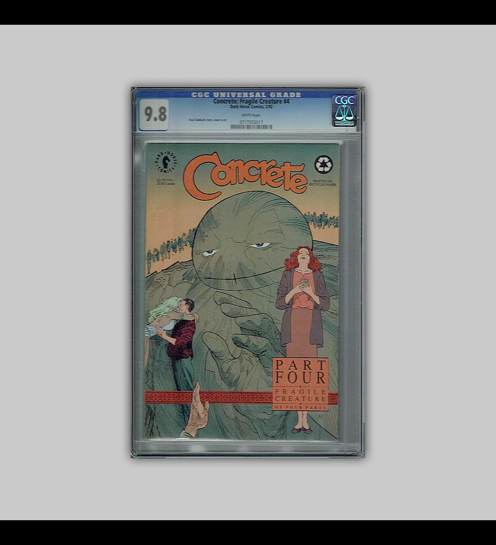 Concrete: Fragile Creature 4 CGC 9.8 1994