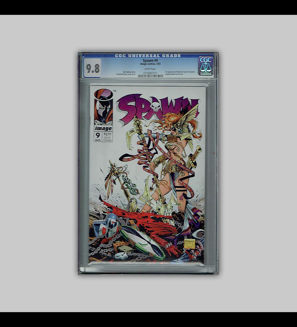 Spawn 9 CGC 9.8 1993