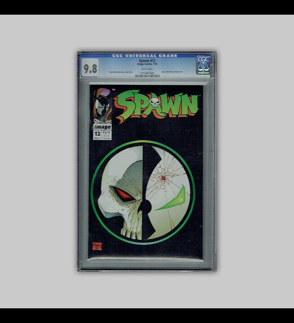Spawn 12 CGC 9.8 1993