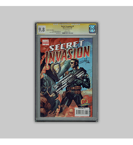 Secret Invasion 3 CGC 9.8 Signature 2008