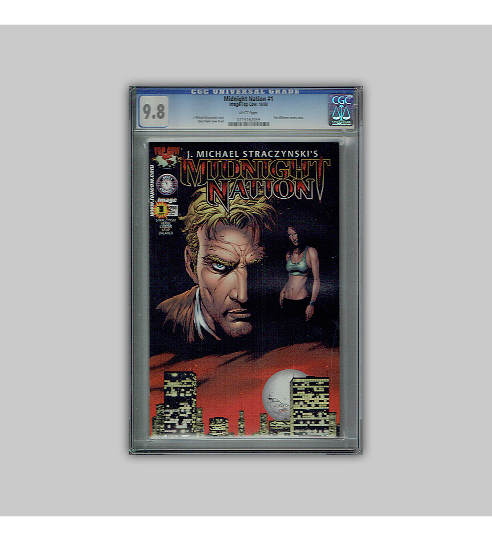 Midnight Nation 1 CGC 9.8 2000