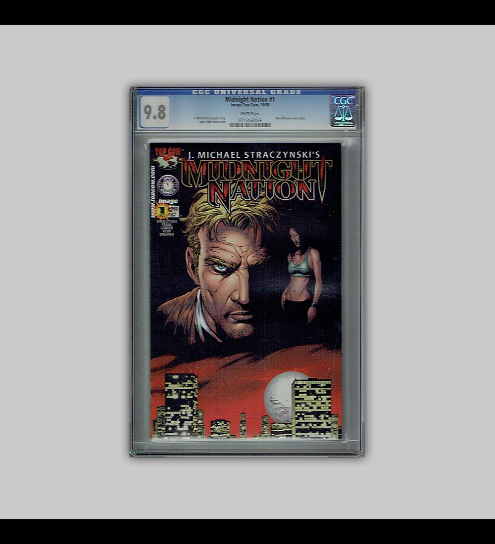 Midnight Nation 1 CGC 9.8 2000