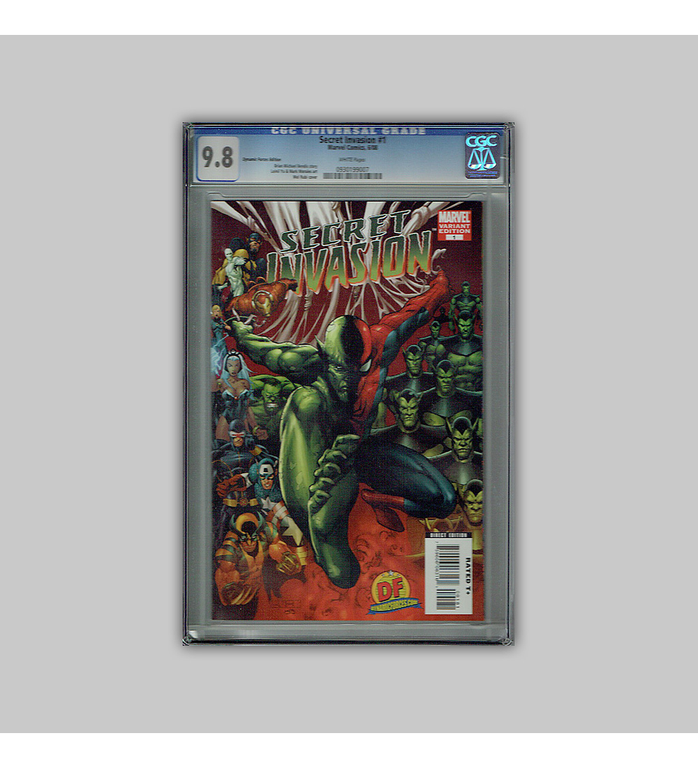 Secret Invasion 1 CGC 9.8 2008
