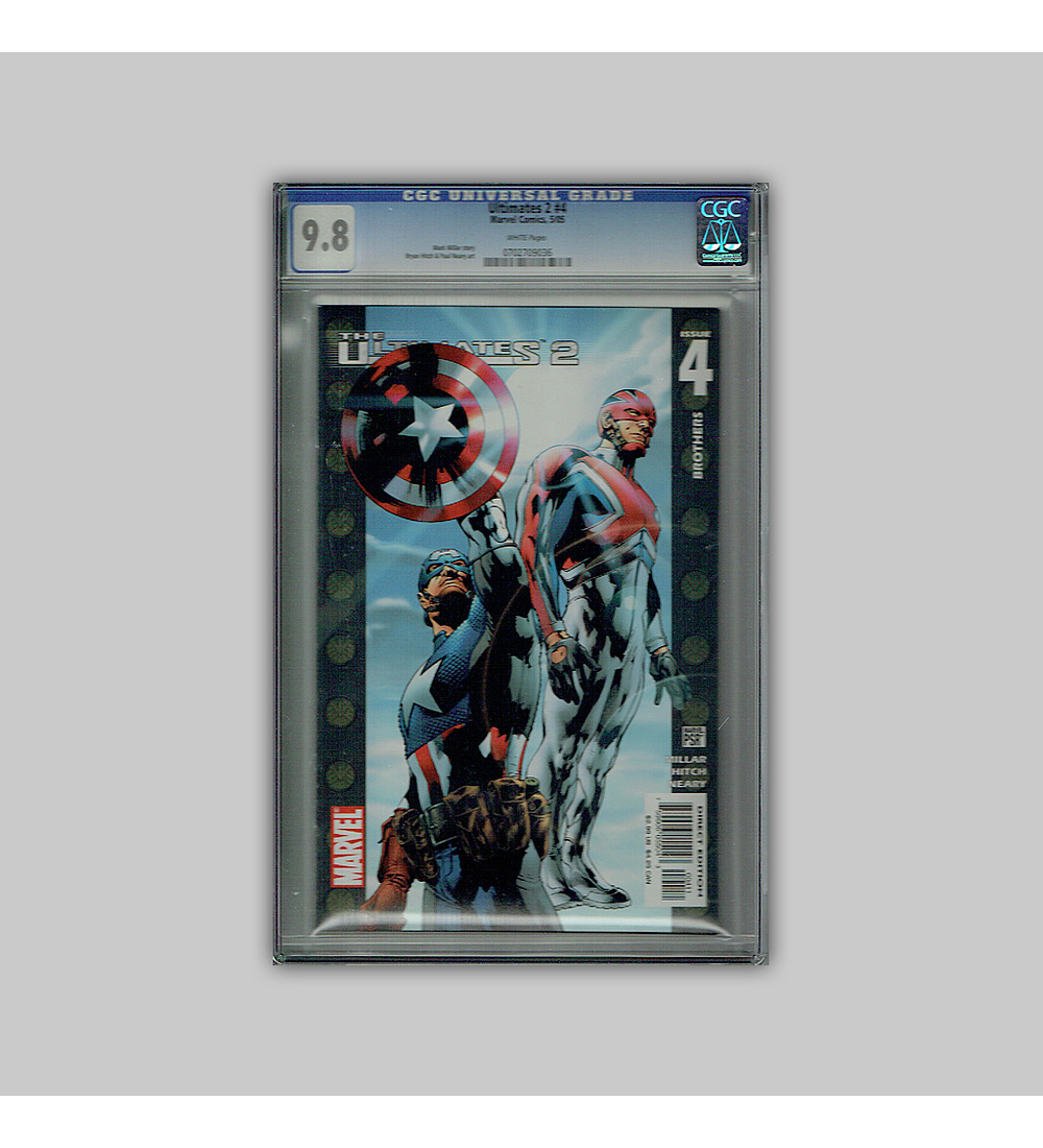 Ultimates 2 4 CGC 9.8 2005