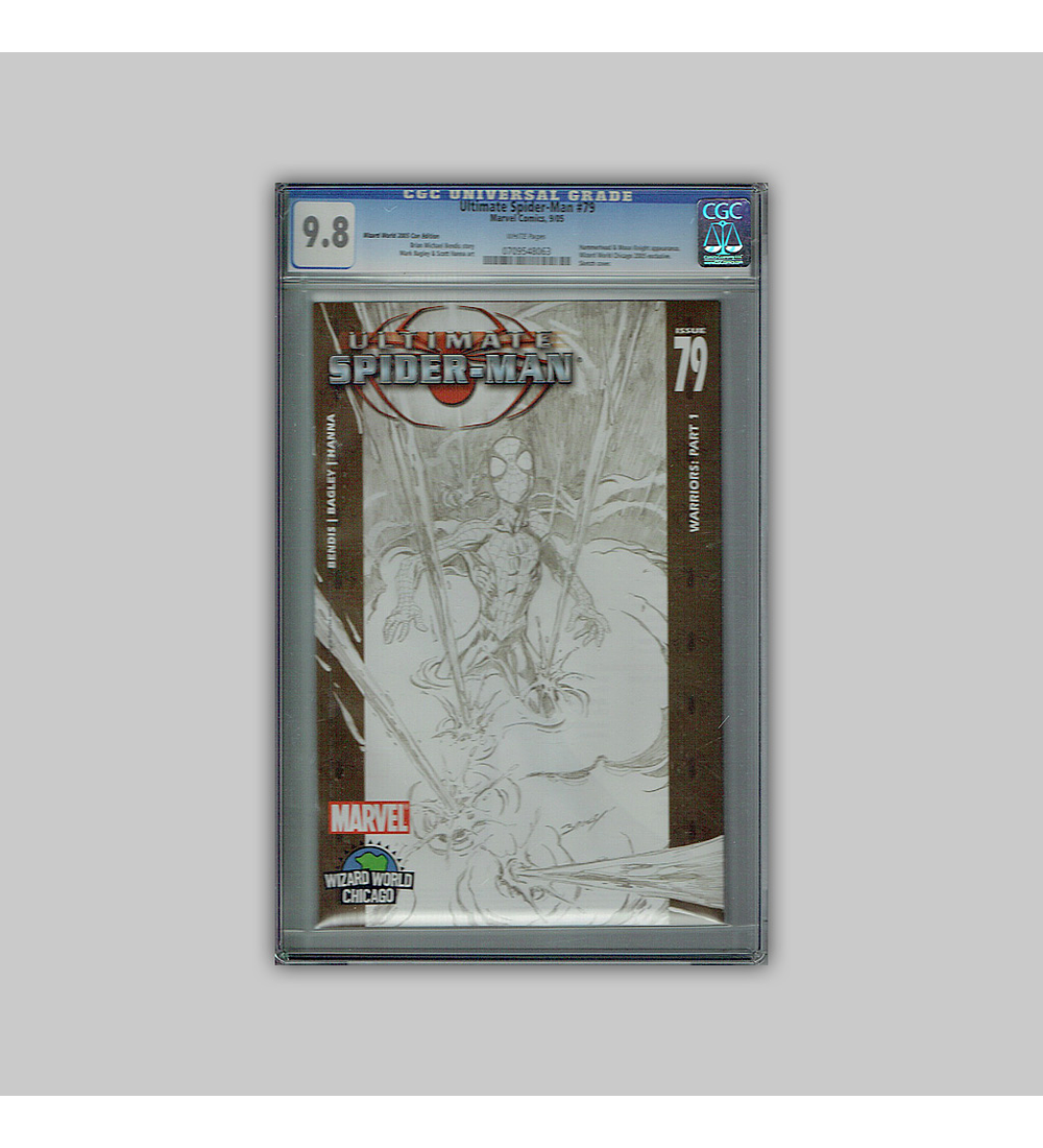 Ultimate Spider-Man 79 CGC 9.8 2006