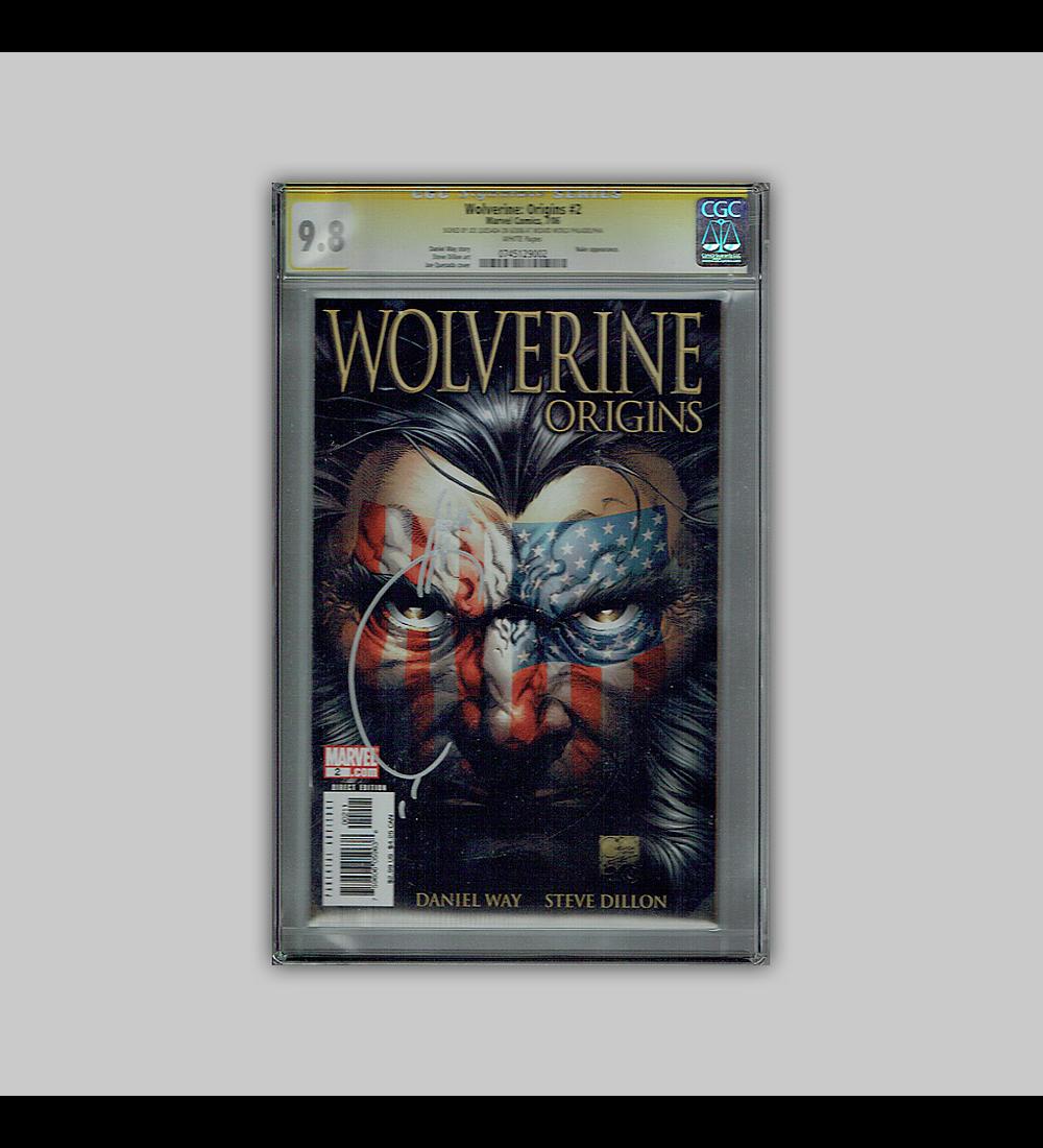 Wolverine: Origins 2 CGC 9.8 Signature 2006