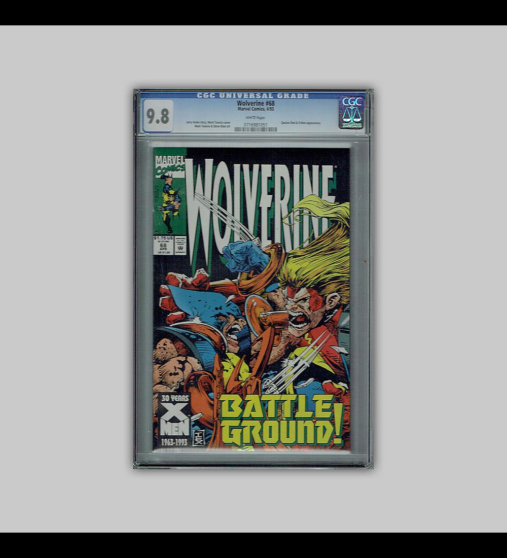 Wolverine 68 CGC 9.8 1993